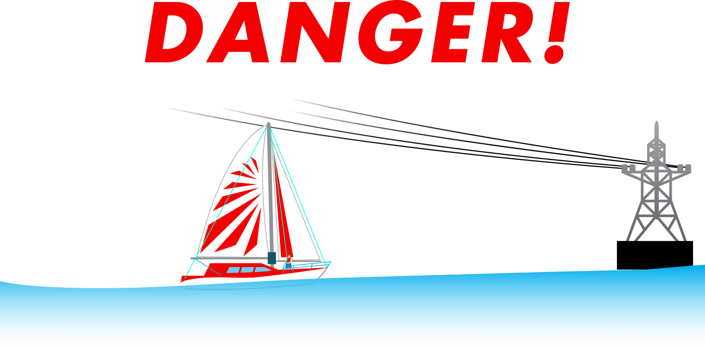 Danger Power Lines